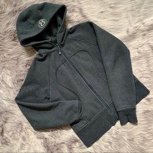 LULULEMON   Grey Scuba Hoodie